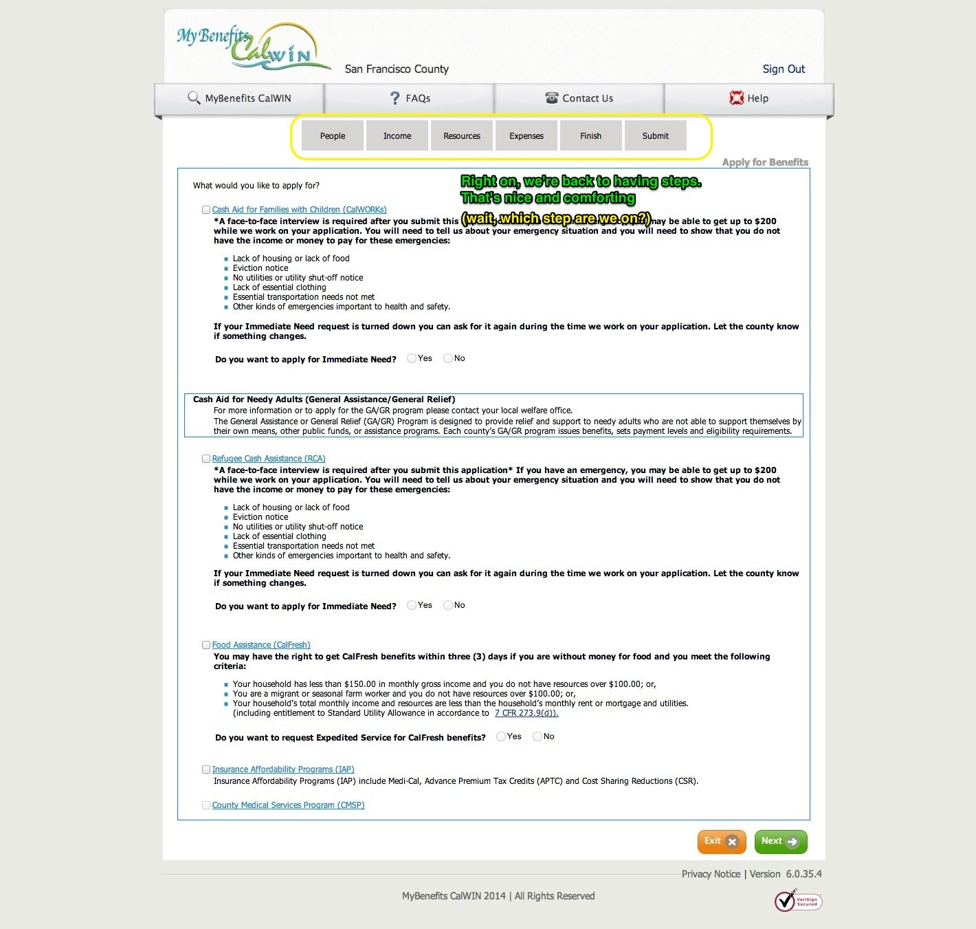Food Stamp Eligibility Letter