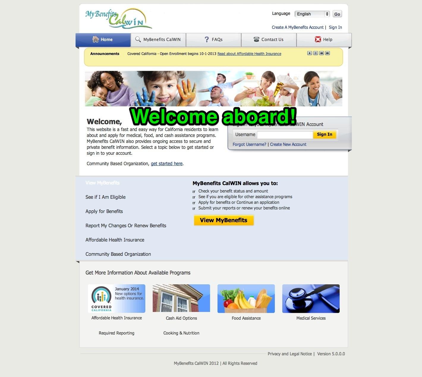 Application For Calfresh Benefits